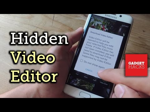 Use Samsung's Hidden Video Editor on Any Galaxy Device [How-To]