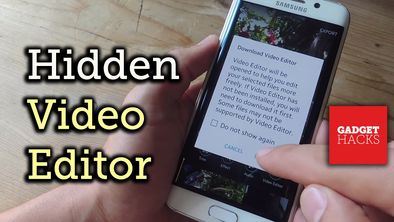 How to Use Samsung's Hidden Video Editor on Any Galaxy