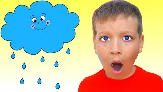 Дождик дождик уходи - Детские песни - Макс и Песни для детей