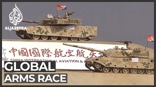 China is world's second-biggest arms trader: Think tank