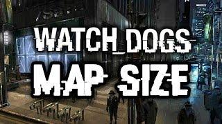 Download lagu Watch Dogs Map Size VS GTA V Grand Theft Auto 5 Comparison MP3