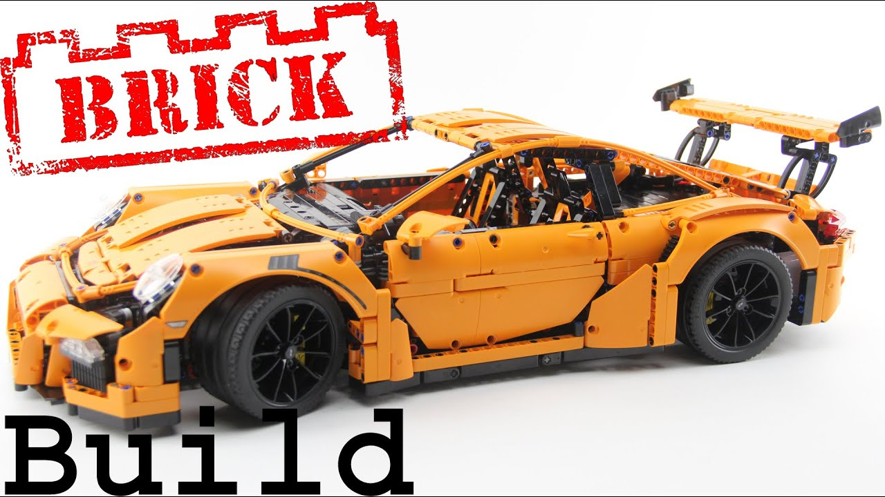 Lego Technic Porsche 911 GT3 RS Time lapse build 42056 ...