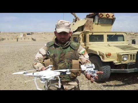 挑戰新聞軍事精華版--IS也有無人機?空襲伊拉克士兵畫面曝光