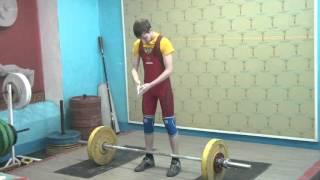 Потёмкин Вадим, 16 лет, вк 56 кг Рывок 60 кг 2 подход