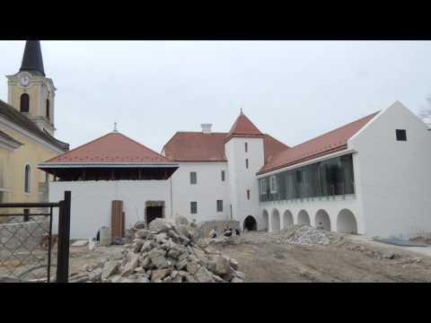 Szászvári vár  kiállításának rendezése