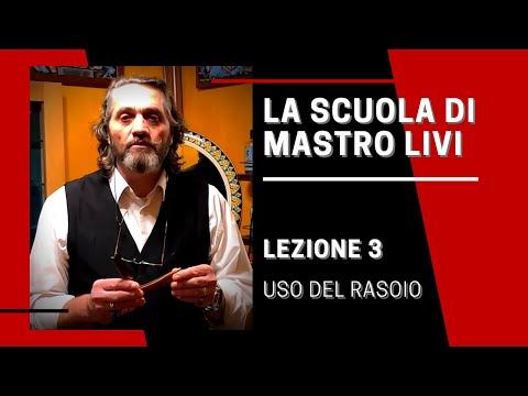La Scuola di Mastro Livi - Episodio 3 - Uso del rasoio a mano libera ...