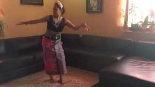 Yapong dance,tari Yapong, Yapong Tanz (Rehearsal)