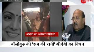 Amar Singh on demise of Sridevi: It is an unbelievable incident