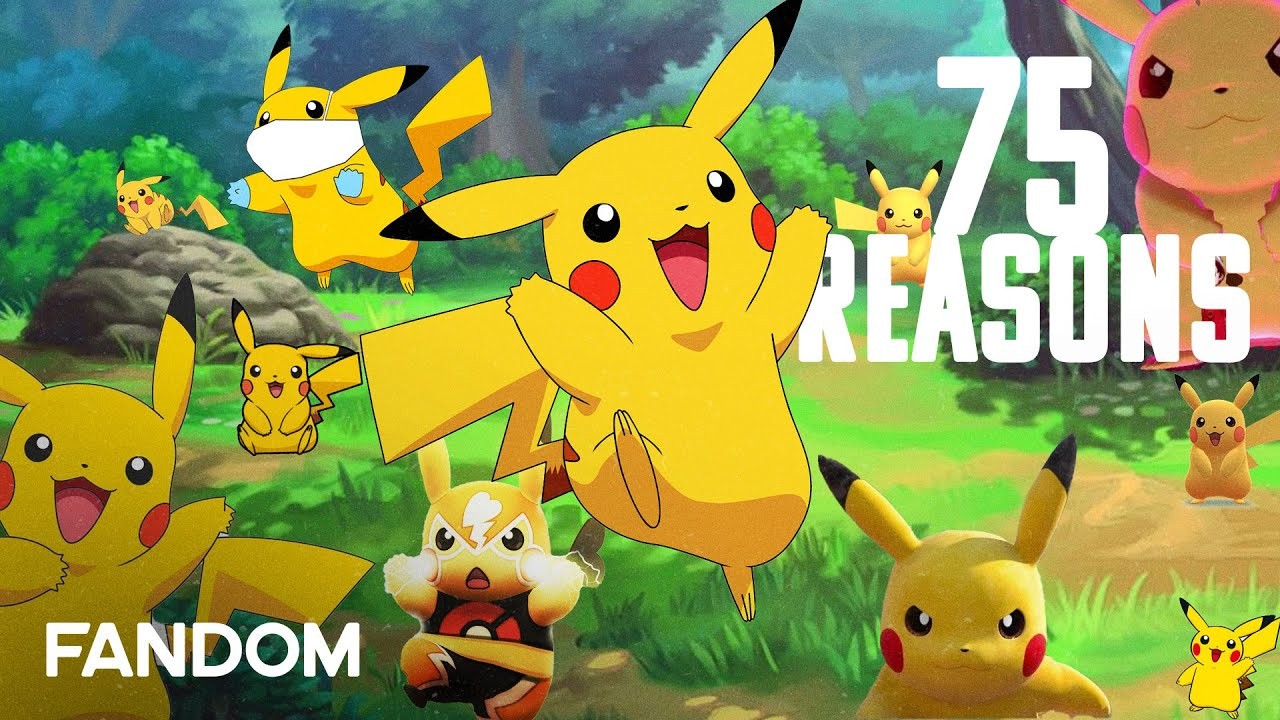 75 Reasons To Love Pokémon