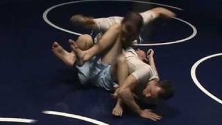 Foot Lock from North South or Side Control