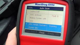 This is The Autel MD702 - European Vehicles