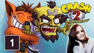 Crash Bandicoot 2 Cortex Strikes Back Gameplay Walkthrough Part 1