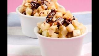 Ensalada Navideña De Manzana - Christmas Apple Salad