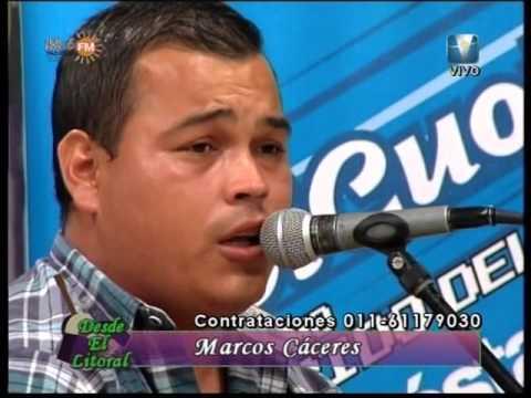 DESDE EL LITORAL -  MARCOS CACERES