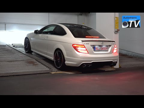 2014 Mercedes C63 AMG Coupe PP (487hp) - pure SOUND (1080p ...