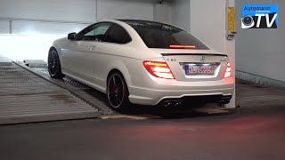 2014 Mercedes C63 AMG Coupe PP (487hp) - pure SOUND (1080p)