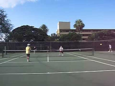 Tennis NTRP 5.0:  Doubles Match Pearl Harbor Challenge