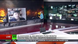 Iraq bloodshed & jailbreak