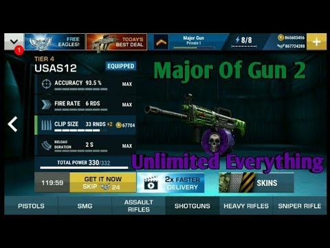 How To Hack Major Gun 2:War On Terror|Get Unlimited Everything|
