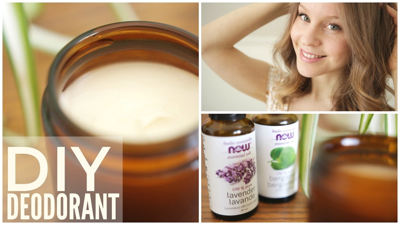 How to Make Natural Homemade Deodorant | Easy 3 Ingredient Recipe