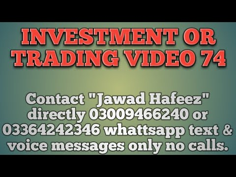 Investment or trading video 74