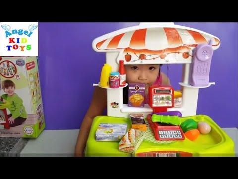 Little Supermarket Shopping Toy Set