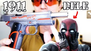 1911 do DeadPool Airsoft AW by Luiz Rider