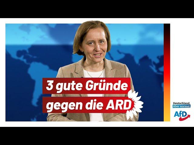Drei Gründe, die gegen die ARD sprechen!