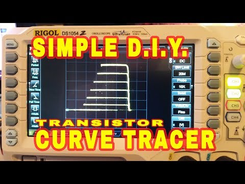 Simple Transistor Curve Tracer For Oscilloscopes.