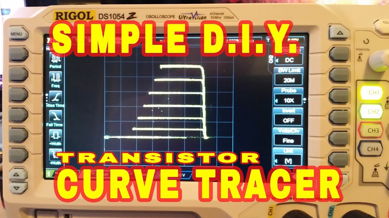 Diy Transistor Curve Tracer Project Full On Fet Parallax Forums Simple For Oscilloscopes
