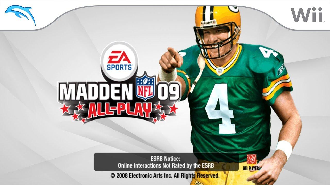 Madden NFL 09 All-Play | Dolphin Emulator 5.0-12364 [1080p HD] | Nintendo Wii