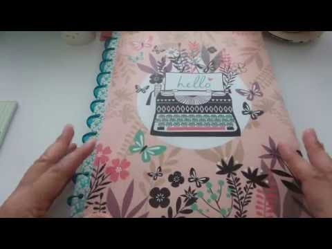DIY Dollar Tree Happy Planner Cover #1 - Fast and Easy