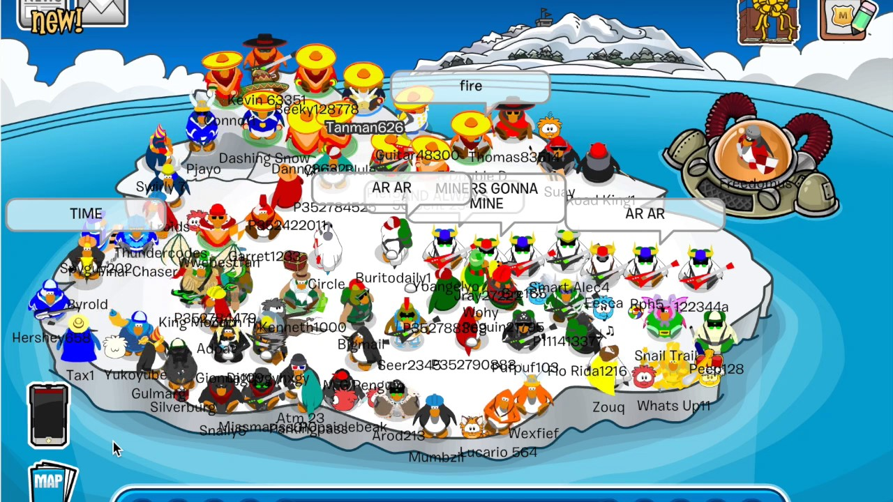 H Club Penguin The End of Club...