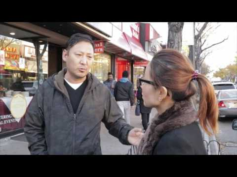 New York Tibetans react to Trump winning the Election