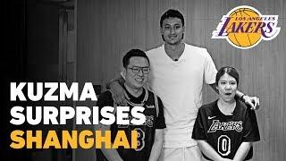 Kyle Kuzma's Shanghai Vlog