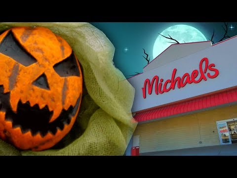 HALLOWEEN 2019 At MICHAEL'S CRAFTS STORE