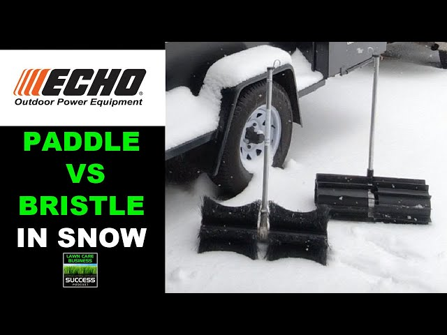 ECHO PAS Pro Paddle VS Pro Sweep For Clearing Snow | Which One Is Better?