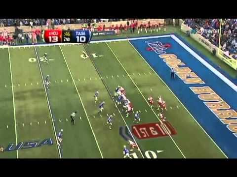 2011 Houston Offense vs Tulsa Defense cutups broken down by plays
