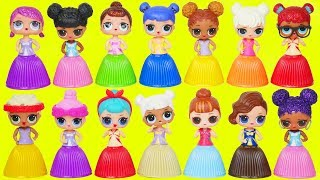 L.O.L. Surprise! Dolls Dress Up Lil Sisters Hatchimals Eggs Water Playmobil Series 3 Toy Unboxed!