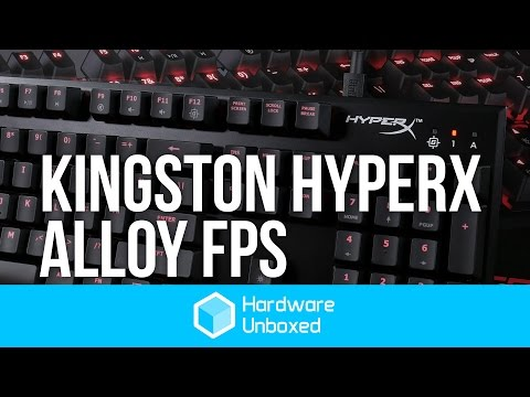 Kingston HyperX Alloy FPS - HyperX's First Gaming Keyboard