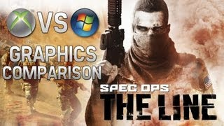 Spec Ops: The Line | PC Maxed Settings vs Xbox 360 | Graphics Comparison | 1080p HD
