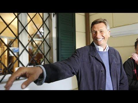 Pahor vence primeira volta das presidenciais eslovenas