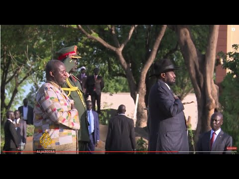 South Sudan's Riek Machar sworn in as vice president