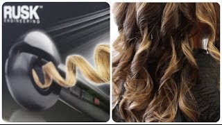 Rusk Mira Curl makes curling hair fast and easy!
