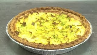 How To Make Mixed Vegetable Quiche : Vegetable Dishes