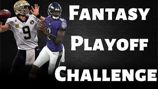 Fantasy Football 2019 | Fantasy Playoff challenge(Free league and prize rewards)