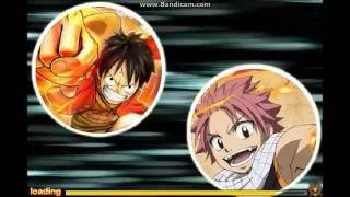 Fairy Tail Vs. One Piece: Luffy Vs. Natsu
