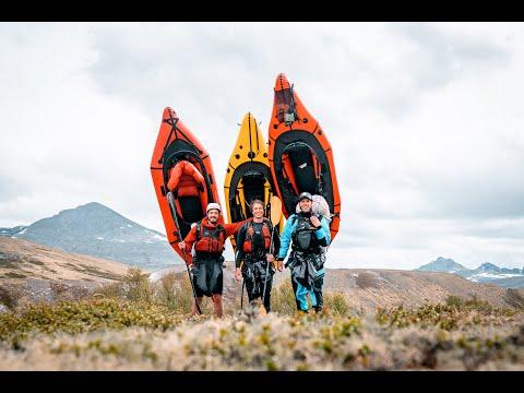 Packrafting Rondane Norway (4k)
