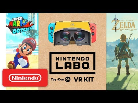 New Clip Shows Off Labo VR Kit's 'Mario' and 'Zelda' Content
