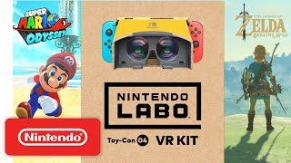 Download Nintendo Labo: VR Kit + Super Mario Odyssey / The Legend of Zelda: Breath of the Wild Mp3 and Videos